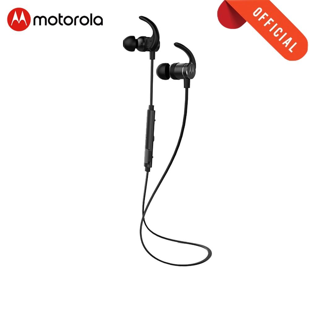 Motorola Headphone Neck bluetooth earphone Magnetic Sports Waterproof IPX5 Headset wireless earbuds strong bass Neck-mounted(China)