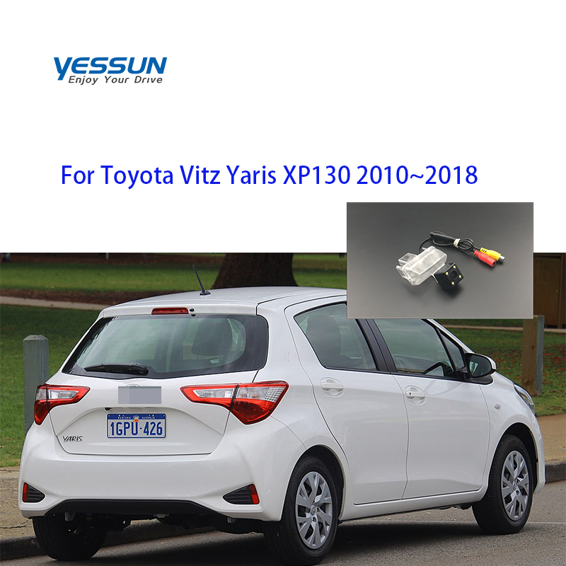 Yessun Special Car Rear View Reverse Backup Camera Rearview Parking For Toyota Vitz Yaris XP130 2010~2018 Rear Camera