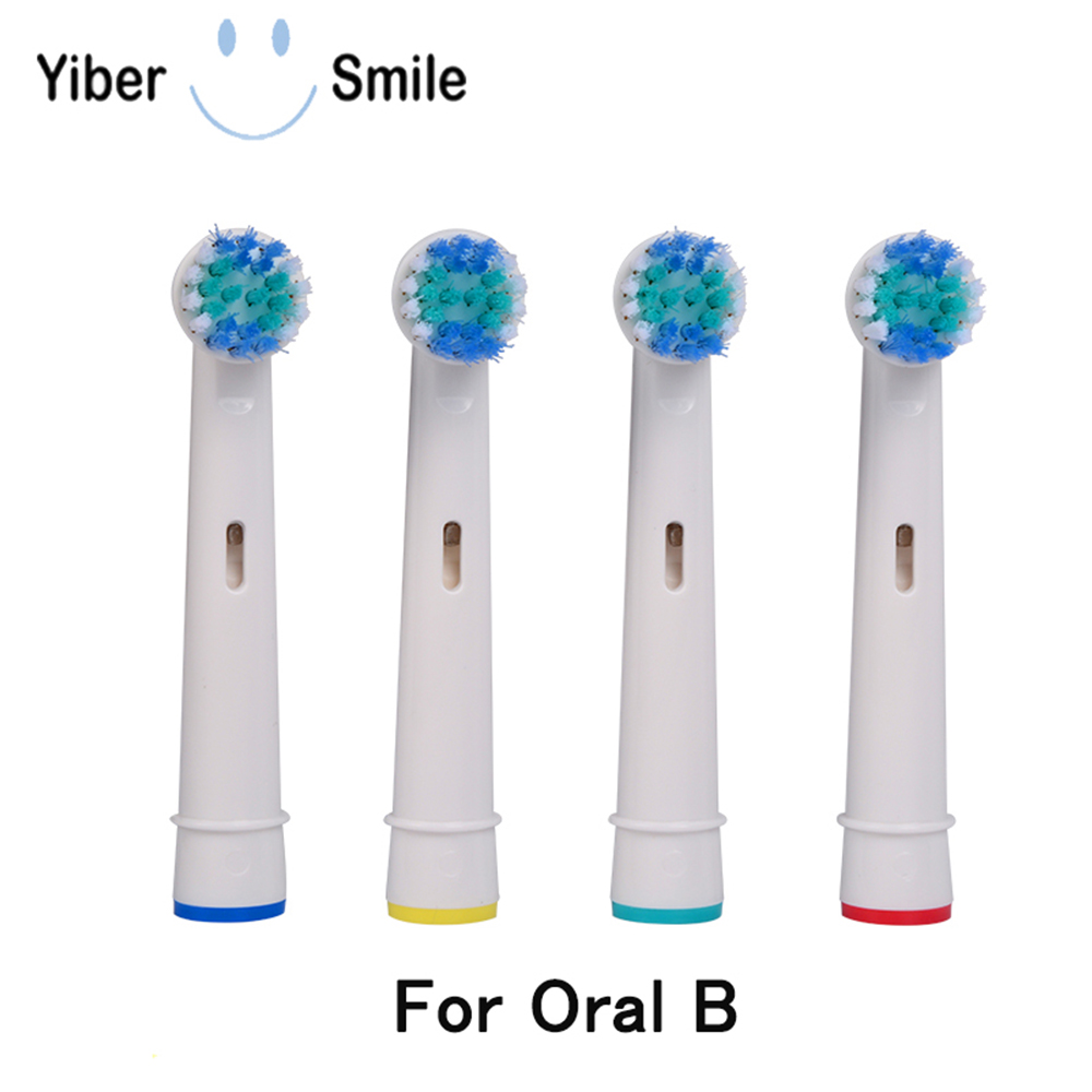 4x Replacement Brush Heads For Oral-B Electric Toothbrush Soft Bristle Whitening Brush Head for Toothbrush oral b Nozzles image
