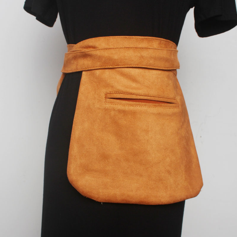 2020 Spring Fashion Stylish Belt Bag Trendy New Design Solid Waist Bag For Women Female All-match Denim Messenger Bag Tide ZK988