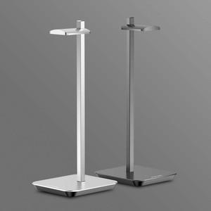 Image 2 - Uchwyt na słuchawki ze stopu aluminium przenośny metalowy zestaw słuchawkowy uchwyt stojak półka ekspozycyjna na akcesoria do słuchawek