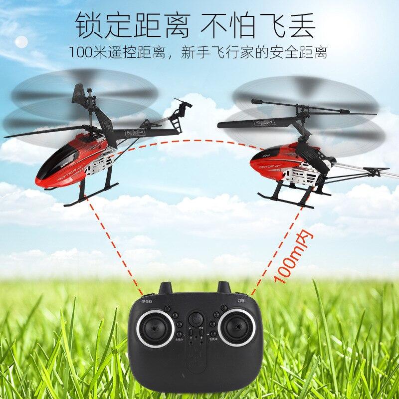 Nouveau 40cm 2.4G grande taille RC hélicoptère avec lumière LED radiocommande rc Drone hauteur fixe alliage durable ABS grands avions jouets 3