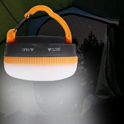 Lanterne de Camping étanche pour tente aimant puissant lampe de tente lampe de Camping LED lumière de Camping lanterne de lampe de secours pour la pêche