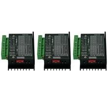 Absf 3Pcs 42/57/86 Tb6600 Stappenmotor Driver 32 Segmenten Verbeterde Versie 4.0A 42Vdc Voor Cnc Router