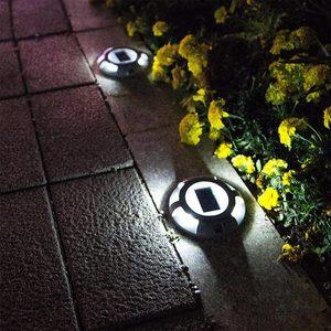 Image 5 - Уличный водонепроницаемый фонарь на солнечной батарее, садовый наземный светильник для безопасности, для ступенек, тротуаров, лестниц, садовых наземных дорожек, Прямая поставка