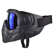 Mask Paintball-Game Goggles with Impact-Resistant for Halloween Movie-Props Party Full-Face
