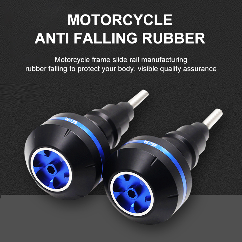 Motorcycle Anti Falling Bubber Suitable SUZUKI GSR400 GSR600 10-18 Protector Collision Drip-Proof Anti-Drop Glue Slider Fairing