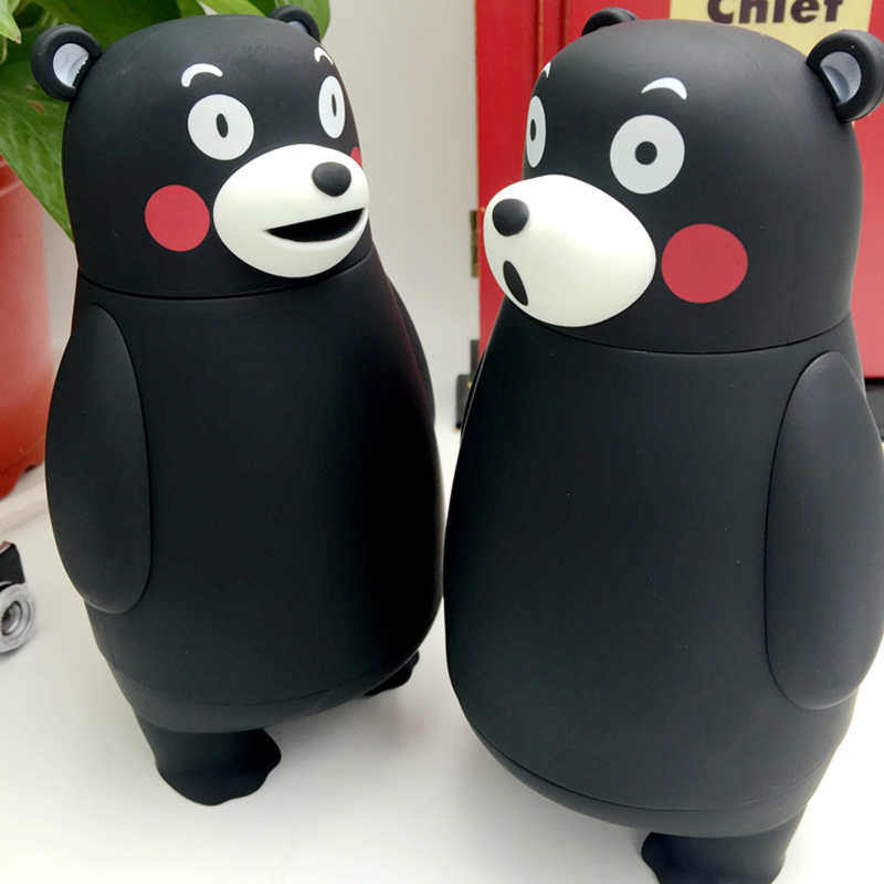 Image 3 - 280ml Cartoon Kumamon Bear Vacuum Cup Stainless Steel Thermo Mug Insulated Vacuum Flasks Thermoses Travel Drink Water Bottle-in Vacuum Flasks & Thermoses from Home & Garden on AliExpress