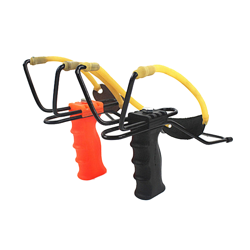 Powerful Hunting Slingshot Catapult With Rubber Bands Wrist Catapult Outdoor Equipment Hunting Bow Tools Shot Set Accessories