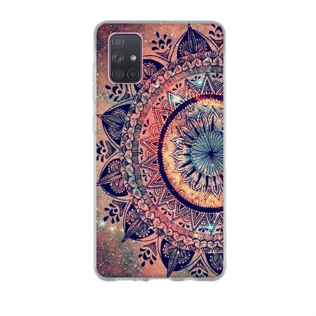 For Samsung A51 Case Galaxy A71 Case Silicone TPU Soft Phone Case For Samsung A71 A51 A515F A717F A 51 A71 Cover Funda Coque Bag