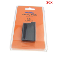 20Pcs 1200mAh 3.6V Battery Pack for Sony PSP2000 PSP3000 PSP 2000 PSP 3000 PlayStation Gamepad Portable Batteries Wholesale