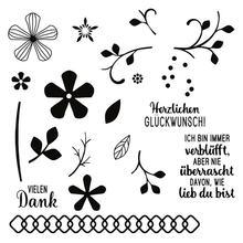 Немецкие металлические высекальные штампы и в форме цветка для