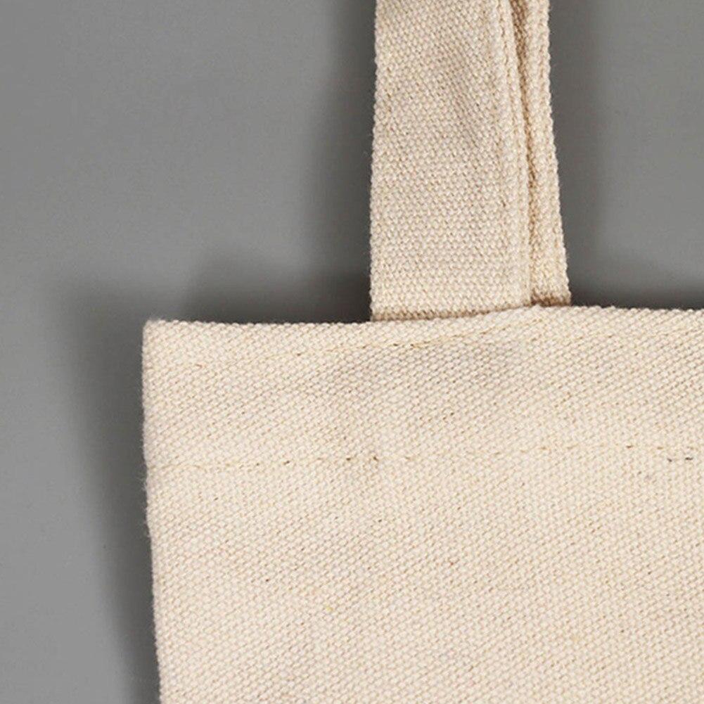 de tecido de algodão sacola para mulheres