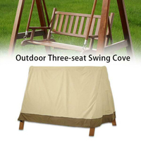 Open Air Three Seater A Frame Swing Cover Garden Cover Resistant Chair Shade Dust Outdoor Courtyard Hammock Tent Swing Top Cover