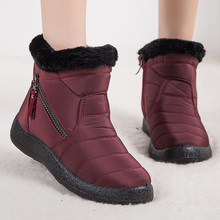 Women Boots Super Warm Ankle Boots Shoes Woman Plus Size  Waterproof Winter Boots Non-slip Flat Snow Botas Mujer Winter Footwear