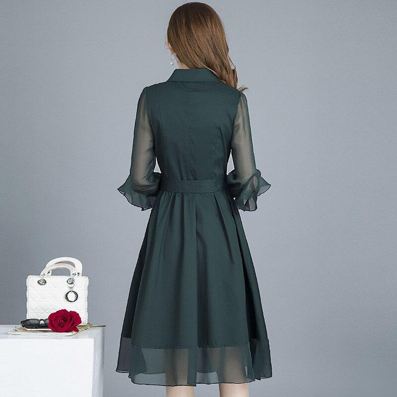 2020 primavera outono novas mulheres de vestido 01