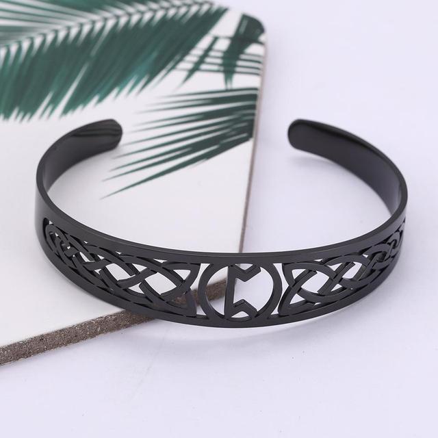 Bracelet Celtic symbole acier inoxydable 3