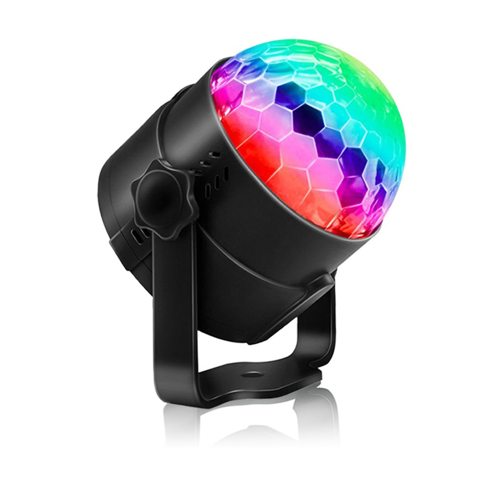 3-Color Voice-Activated Party Lights With Remote Control Lighting, Disco Ball, Strobe Lights 7-Mode Stage Drop Shipping Sale