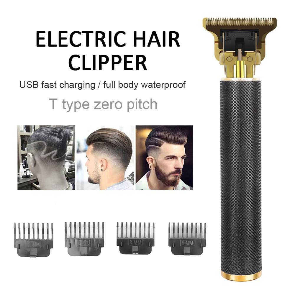 0mm aparador de cabelo careca barba barbeando