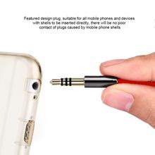 Telefon komórkowy rozszerzenie przewodowy zestaw słuchawkowy 3 5mm głośnik męski na żeński kabel Audio ze stopu aluminium akcesoria do telefonu komórkowego tanie tanio ESSAGER CN (pochodzenie) Wtyk Jack Metal Dropshipping Fast Shipping