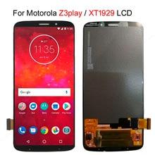 Сенсорный ЖК экран Amoled для Motorola Moto Z3 Play, Сменные Запчасти для Moto XT1929