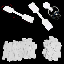 50pcs/100pcs White Price Label Tags with Hanging String for Jewelry / Stationery / Shoes / Clothing