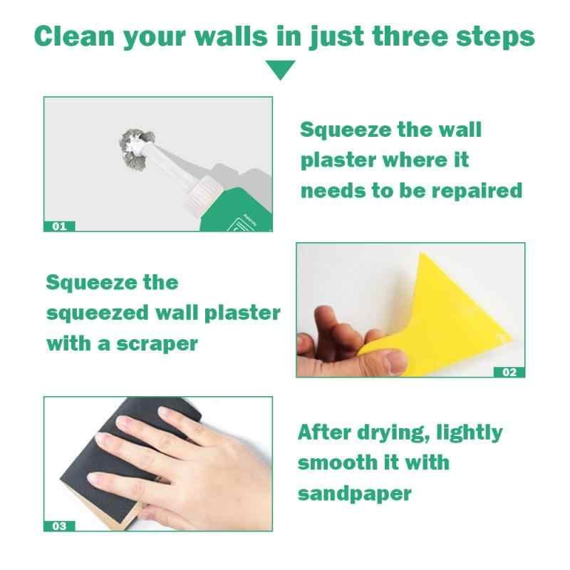 Nouveau 1pc mur réparation Agent mur réparation crème mur fissure ongles réparation Agent murs Peeling Graffiti Gap réparation pâte pour la maison TSLM1