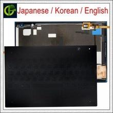 Teclado coreano/japonés/Inglés para Lenovo Yoga Book, YB1-X90L de YB1-X90F, YB1-X91L, X90, X91, cubierta JP KR, 10,1