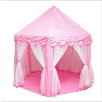 Baby Play Tent Portable Folding Prince Princess Tent Children Castle Play House Kid Gift Outdoor Beach Tent Toys For Kids Wigwam