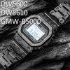 Stop tytanu GMW-B5000 dla DW 5600 pasek do zegarka Bezel DW5600 kamuflaż GW5000 DW5035 metalu od zegarków pokrywa narzędzia