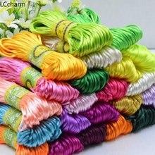 Нейлоновый плетеный шнур с китайским узлом 3 мм 5 м