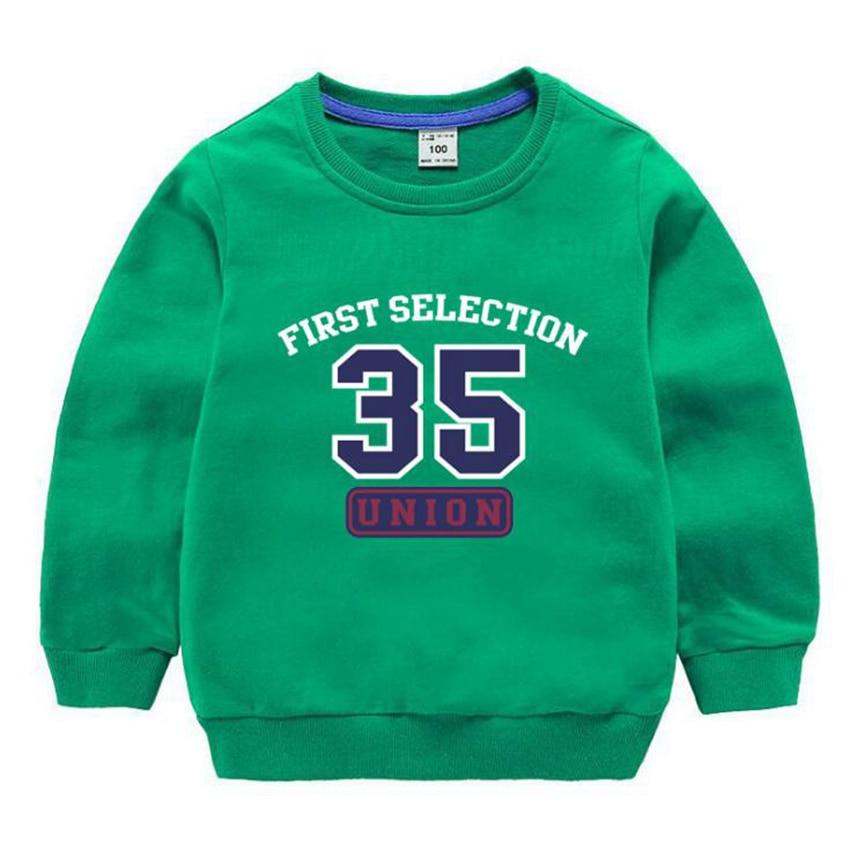 Kids T Shirt Clothing Baby Cotton Long-sleeved Boys And Girls 2y 3y 4y 5y 6y 7y 8y 9 Year Old Cartoon Number Hero Union Clothes