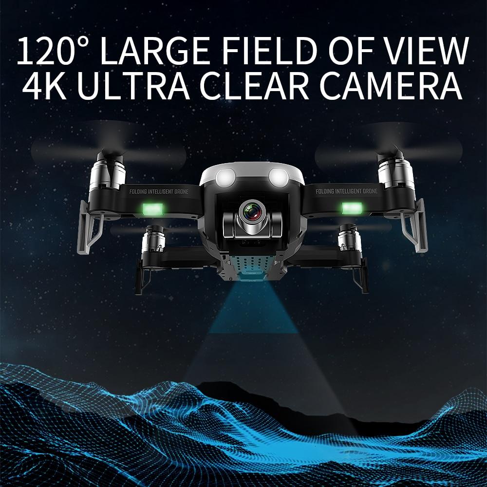 Gps-дрон с двухосевым антивибрационным самостабилизирующимся шарниром Wifi FPV 1080P 4K HD камера бесщеточный Квадрокоптер VS F11 K1 SG906 X12