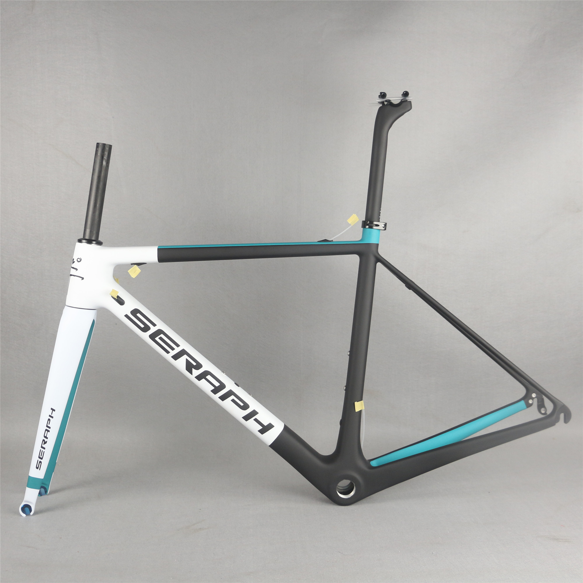Seraph BSA Road Bike Frame BB30  Carbon Fiber T1000 Bicycle Frame FM066
