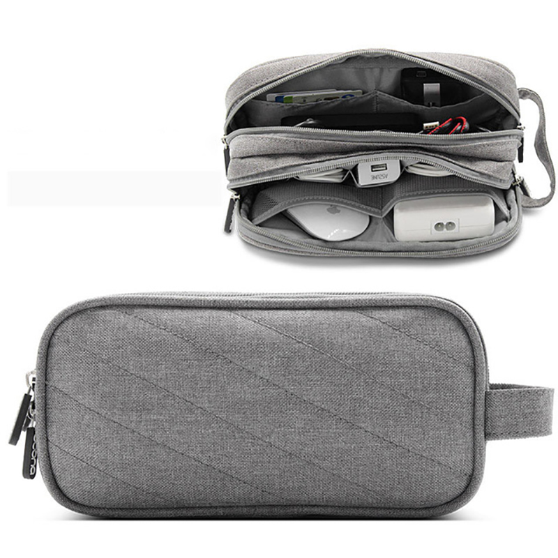 Travel Gadget Organizer Bag Portable Cable Electronics Accessories Storage Pouch