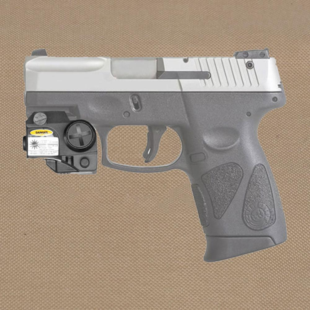 Tactical Mini Red/Green/IR Laser Sight Fit All Railed Including Full Size Compact Subcompacts Pistol For Taurus G2C  Glock-1