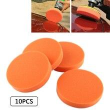 10pcs Sponge Polishing Pads for Car Polisher 150mm 6 inch Foam Buffing Waxing Pad Kit Boat Car Auto Polishing Removes Scratches