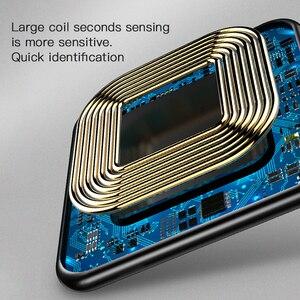Image 4 - Benks אלומיניום סגסוגת צ י אלחוטי מטען 10W מהיר טעינה עבור סמסונג S10 S9 S9 + S8 7.5W עבור iphone 11 פרו מקס XS XR X IOS 11.2