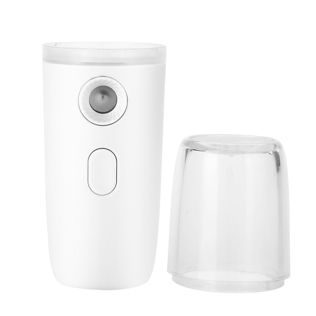 Portable Nanomist Handheld Facial Humidifier Hydration Device Nano Level High Frequency Vibration Technology
