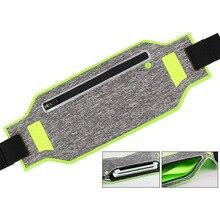 Unisex Waist Pack Pockets Waterproof Fanny Bag Adjustable Belt Phone Pouch for Sports Running Gym LHB99 недорого