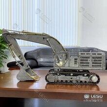 LESU 1/14 Zenoah Koma PC360 гидравлический экскаватор полностью металлический грузовик гусеницы Звездочка ESC TH16382