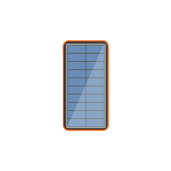 80000mah ηλιακό powerbank με 4 usb θήρες για iphone και android.