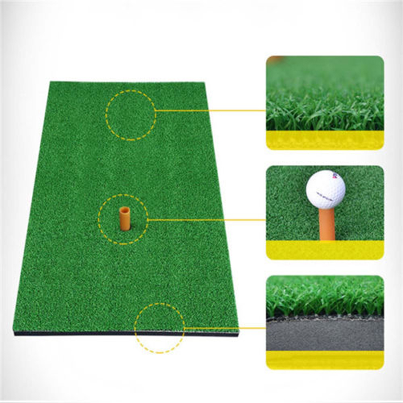 Indoor Putting Practice Mat Home Outdoor Portable Green Putting Training Pad Exercises Blanket Kit With Tee Hole