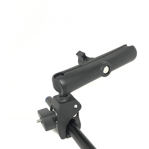 Image 4 - Jadkinsta sert pençe dağı ile çift soket kolu ve yuvarlak amper bankası adaptörü için 1 inç montaj araçlar uzatma kol