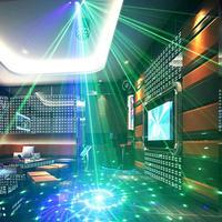 Bühne Lichter DJ 9-auge RGB Bühne Strobe Licht DMX Control Fernbedienung Disco Lampe Für Home KTV Halloween Weihnachten party Dekoration