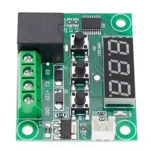 Image 4 - 10 قطعة W1209 تيار مستمر 12 فولت الحرارة كول درجة الحرارة ترموستات التحكم في درجة الحرارة التبديل متحكم في درجة الحرارة ميزان الحرارة الحرارية تحكم
