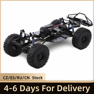 Image 1 - AUSTAR 313mm Wheelbase Chassis Frame With 540 35T Brushed Motor for 1/10 AXIAL SCX10 II 90046 90047 RC Crawler Climbing Car DIY