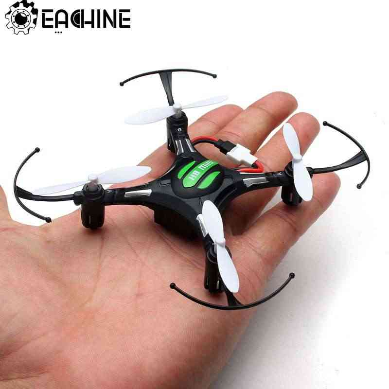 Eachine H8 Mini Headless RC Helicopter Mode 2.4G 4CH 6 Axle RC Quadcopter RTF Remote Control Mainan untuk Anak hadir Vs H36