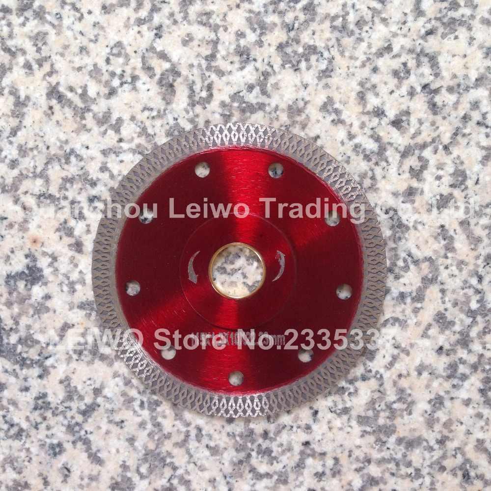 Hoja de sierra Turbo de 4,5 pulgadas (115mm) para azulejo de porcelana cerámica, cuchilla de corte de mármol, disco de corte, disco de diamante, Agujero interior de 22,23mm