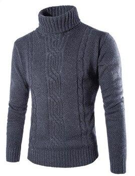 Ανδρικό πλεκτό πουλόβερ-covrlge-υψηλής ποιότητας